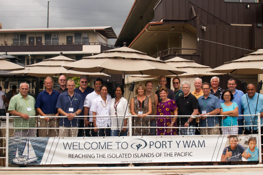 Bible Partnership Meets At Port YWAM Kona - YWAM Ships Kona