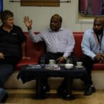 former png prime minister in mess hall