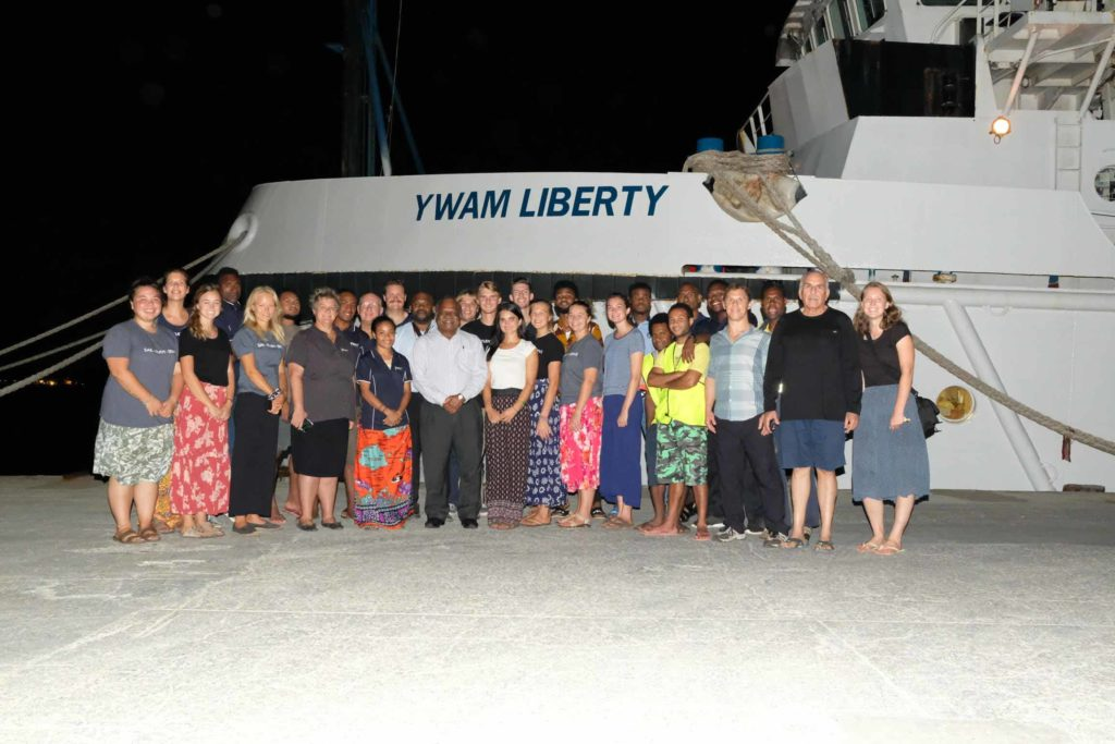 former png prime minister and ywam liberty crew